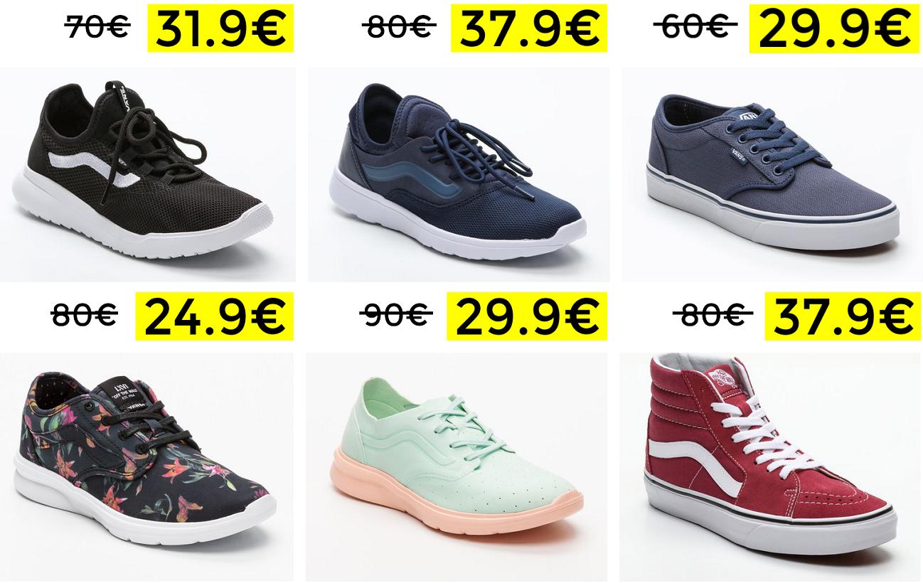 Liquidación Vans desde 14.99€
