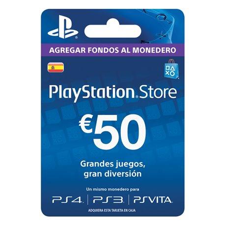 Tarjeta Playstation Store PSN 50 € por solo 35.61€