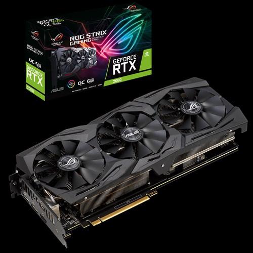 ROG Strix GeForce RTX™ 2060 OC edition 6 GB