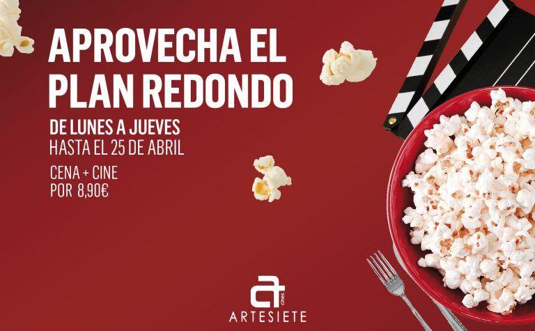 Cine + cena en C.C las terrazas . Gran Canaria por 8.9