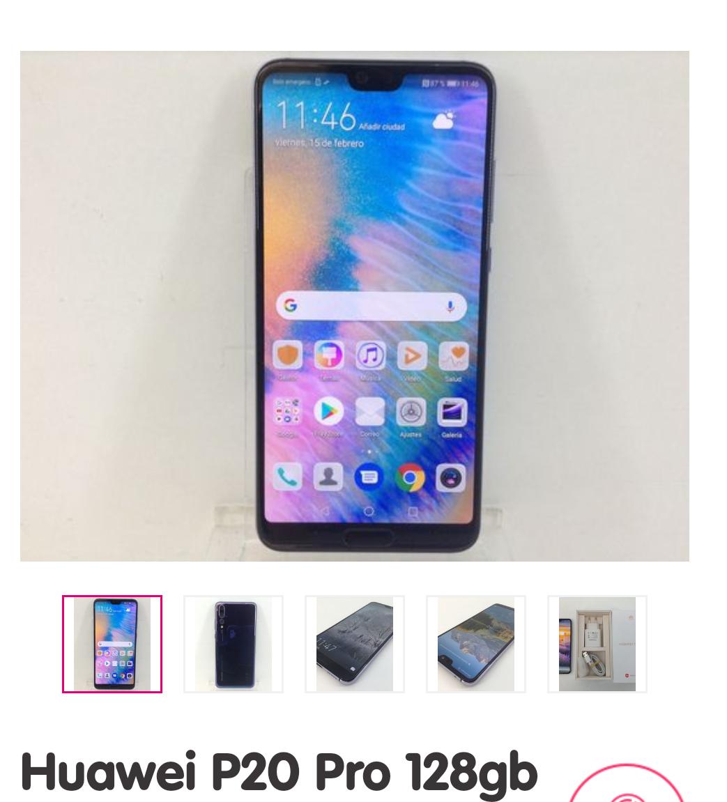 Huawei P20 Pro sin estrenar