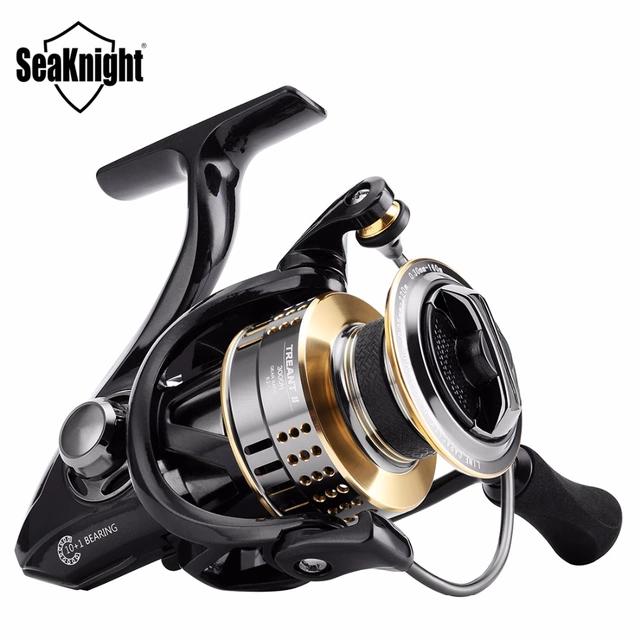 SeaKnight TREANT II Spinning Reel 2000 H 3000 H 4000 H de Alta Velocidad 6.2: 1 Carrete de Pesca de Giro De Aluminio carrete Aparejos