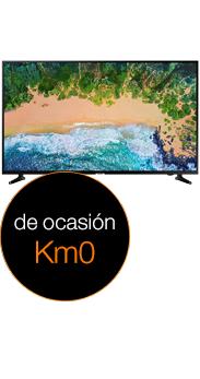 Samsung 55 Smart TV NU7026 negro Km0