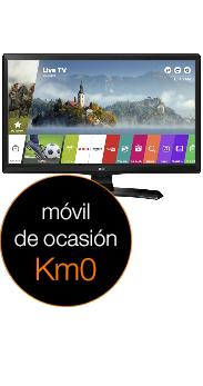 LG 28 Smart TV MT49S negro Km0