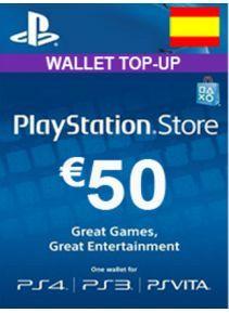 Targeta 50€ PSN