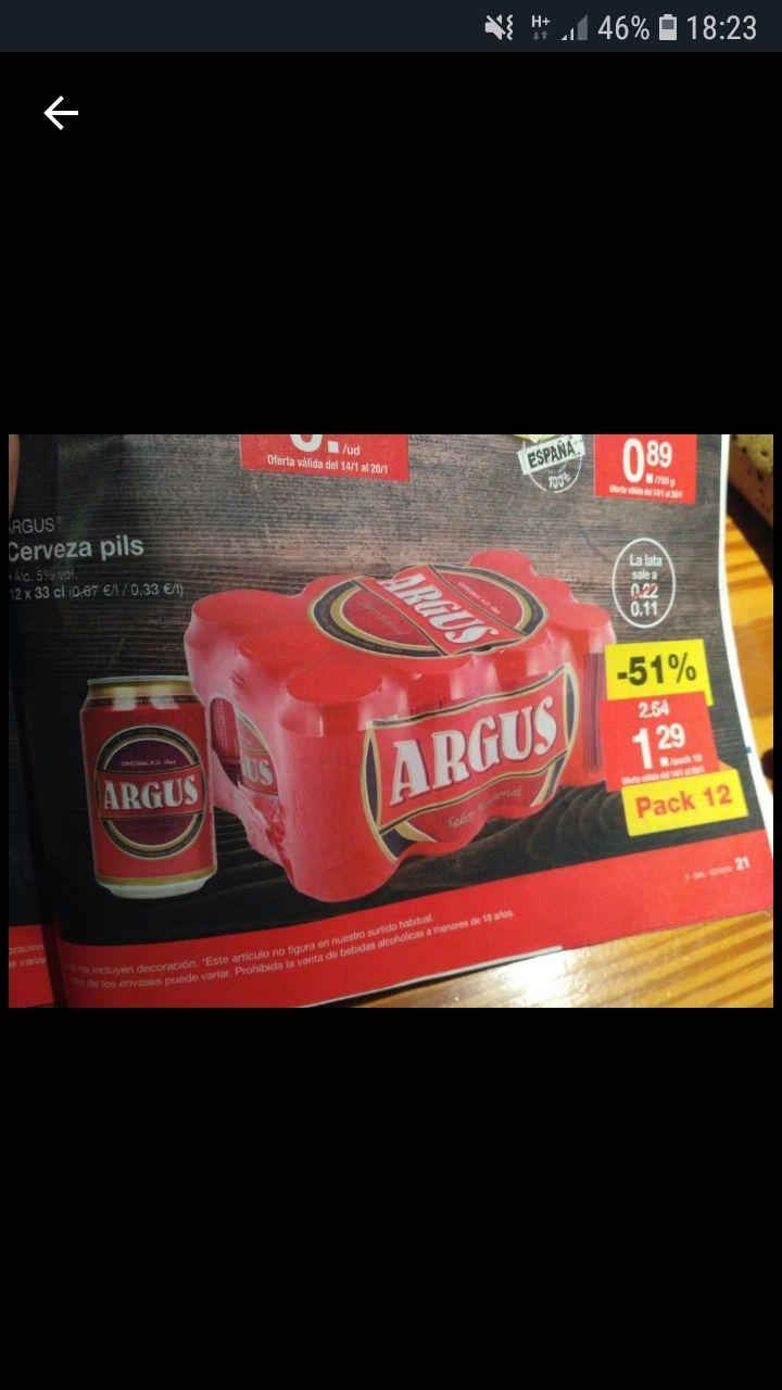 Solo Granada! Pack 12 latas cerveza 1.29