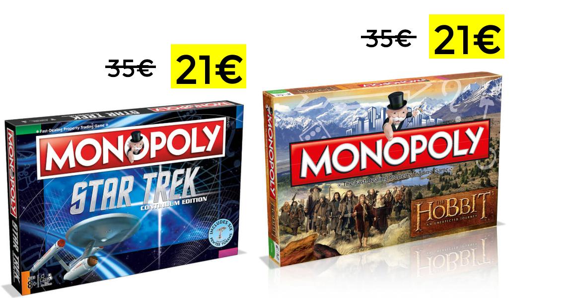 Monopoly edición coleccionista 21€