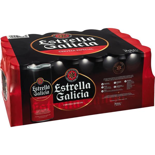 48 latas de estrella galicia por 18€