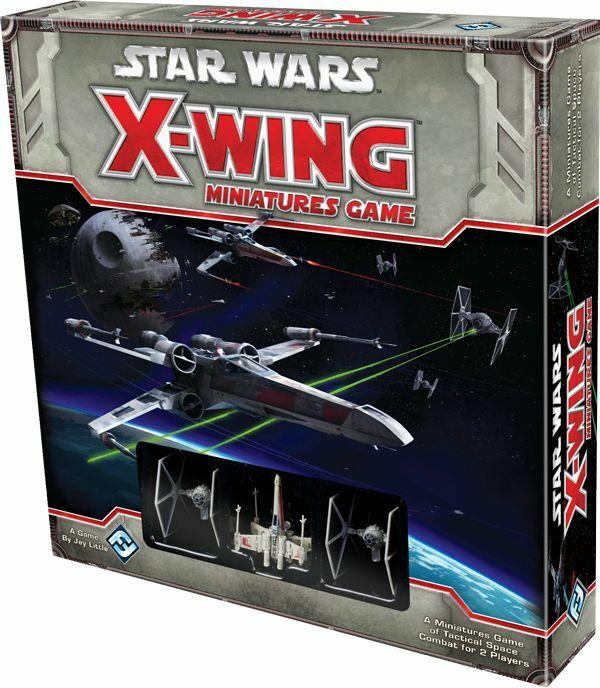 X-Wing Miniatures Game (Inglés)  Pack básico