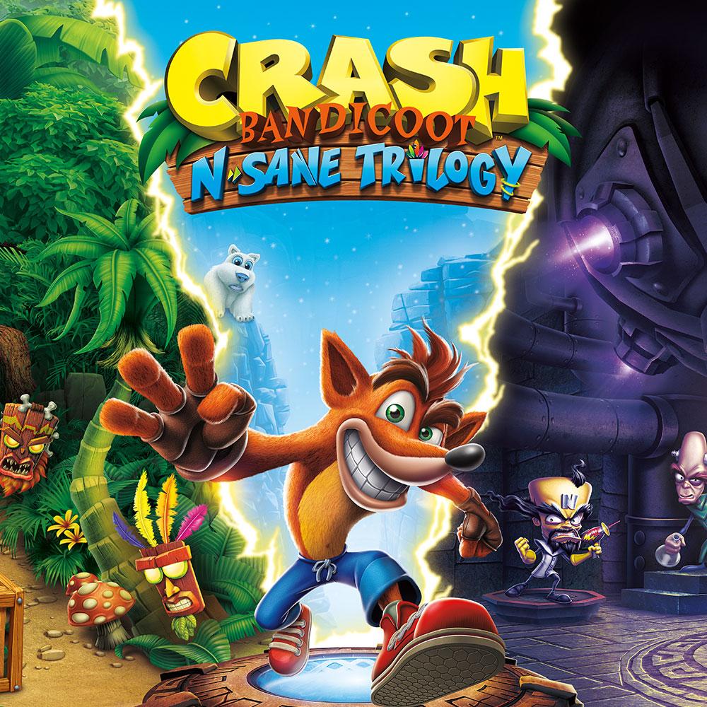 Crash Bandicoot N.Sane Triology Switch (eShop)