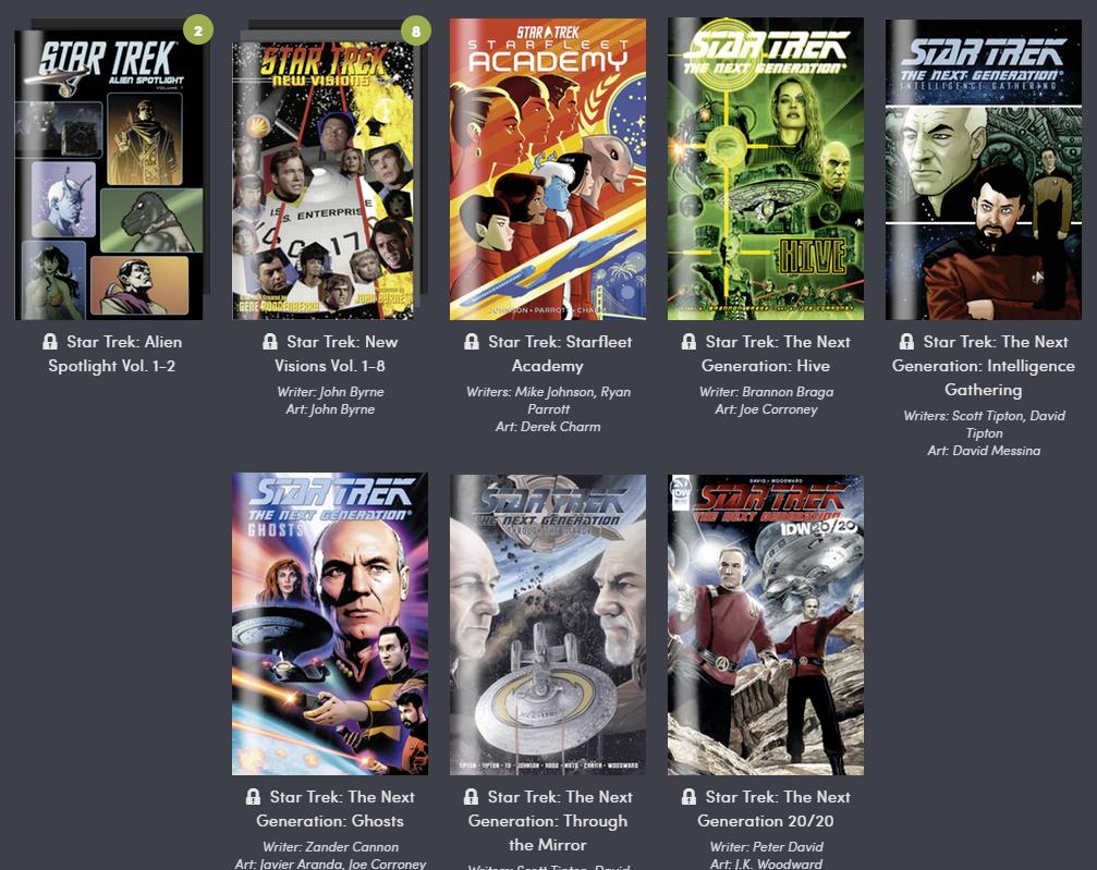 Humble Comics Bundle: Star Trek 2019 por IDW Publishing