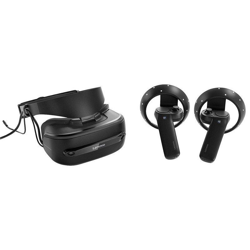 Lenovo Explorer Gafas de Realidad Virtual con Controladores de Movimiento