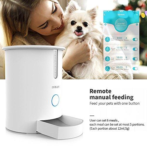 Alimentador automático de Mascotas para Perros y Gatos