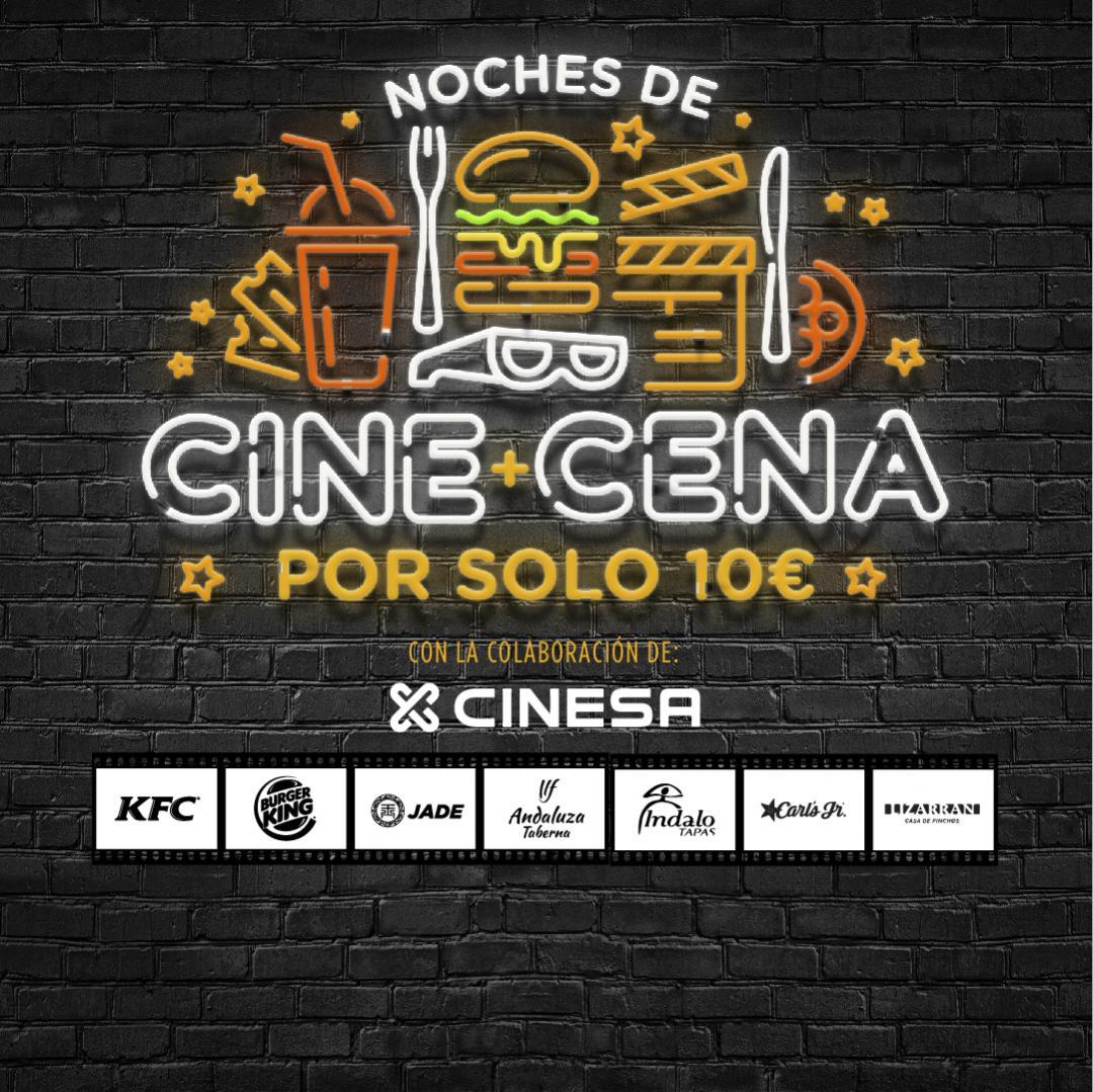Cena + Cine en Nassica 10€