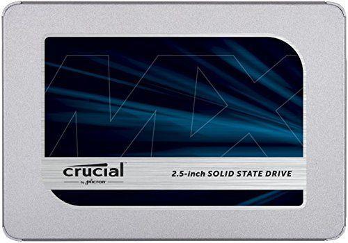 Crucial MX500 - Disco duro sólido interno SSD de 500 GB (3D NAND, SATA, 2.5 pulgadas) - CT500MX500SSD1(Z)