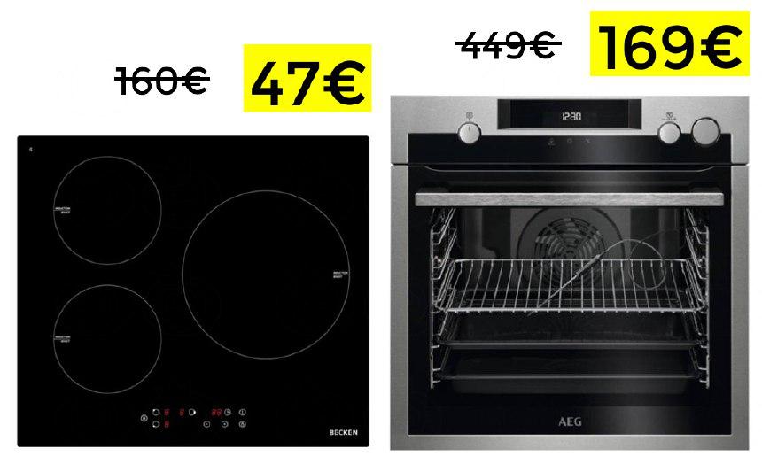 Preciazos en Worten en placas y hornos