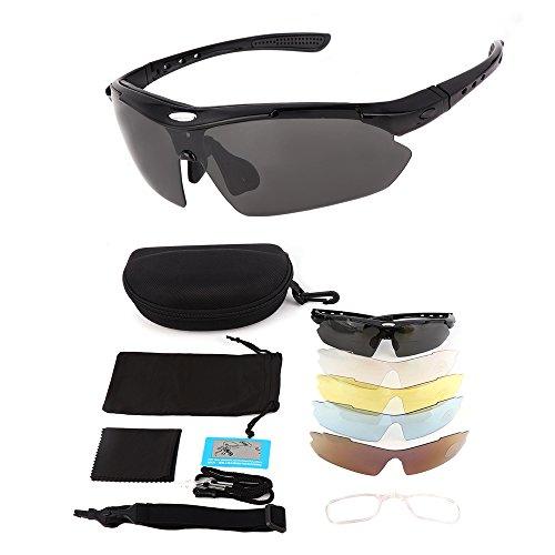 Issyzone Gafas de Ciclismo UV400 - Varios modelos