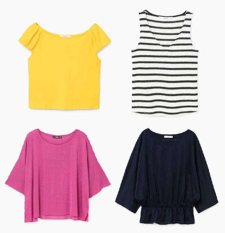 Camisetas MNG para mujer solo 3€