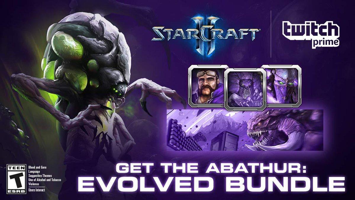 Twitch Prime: GRATIS el PACK EVOLUCIONADO DE ABATHUR (StarCraft II)
