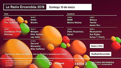 LA RADIO ENCENDIDA 2019 (MADRID 10 MARZO): La M.O.D.A. , Kiko Veneno, Miss Caffeina, Second, Morgan, etc.. (GRATIS)