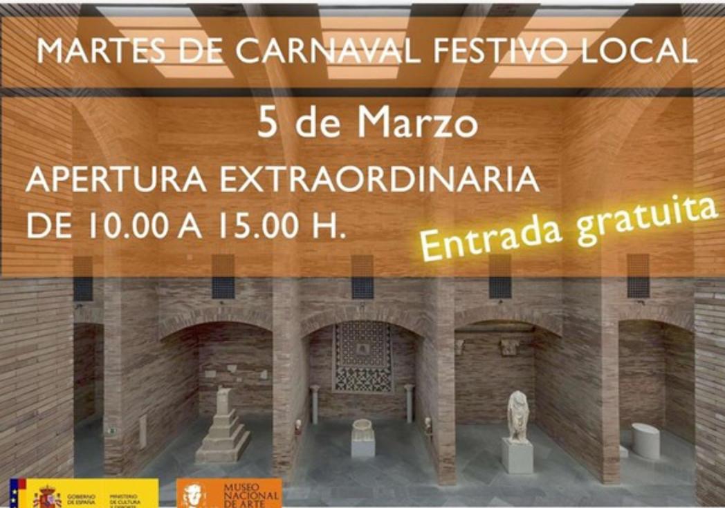 MÉRIDA (5 de marzo): Museo Nacional de Arte Romano (GRATIS)