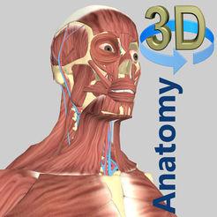 iOS: 3D Anatomy (Músculos 3D y Huesos) - GRATIS