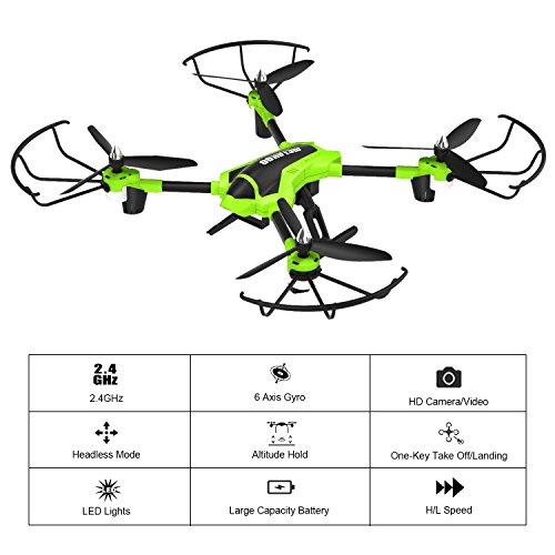 Dron potente control de altitud,incluye dos baterias (15+15m)