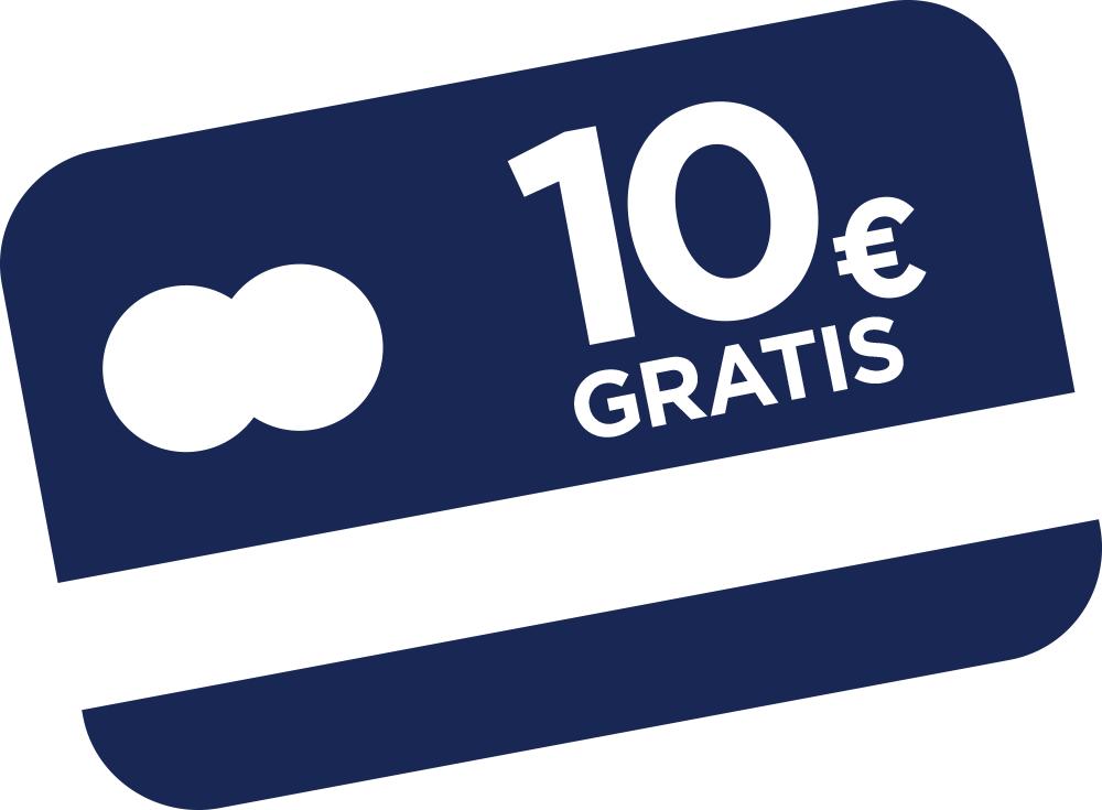 Por la compra de 10€ en productos MAHESO nos regalan 10€ en una  GIFTCARD MASTERCARD