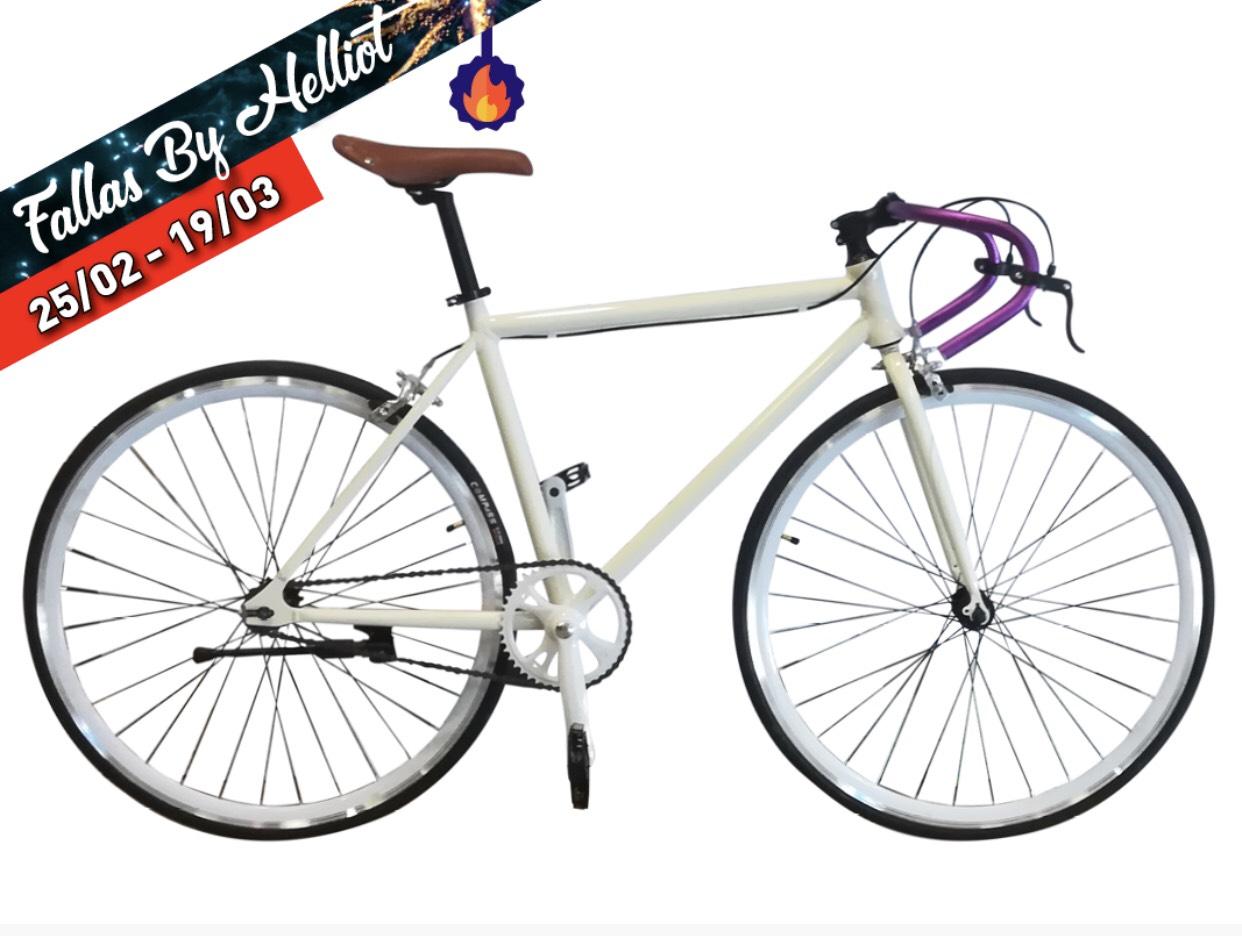 Bicicleta Fixie de aluminio Helliot