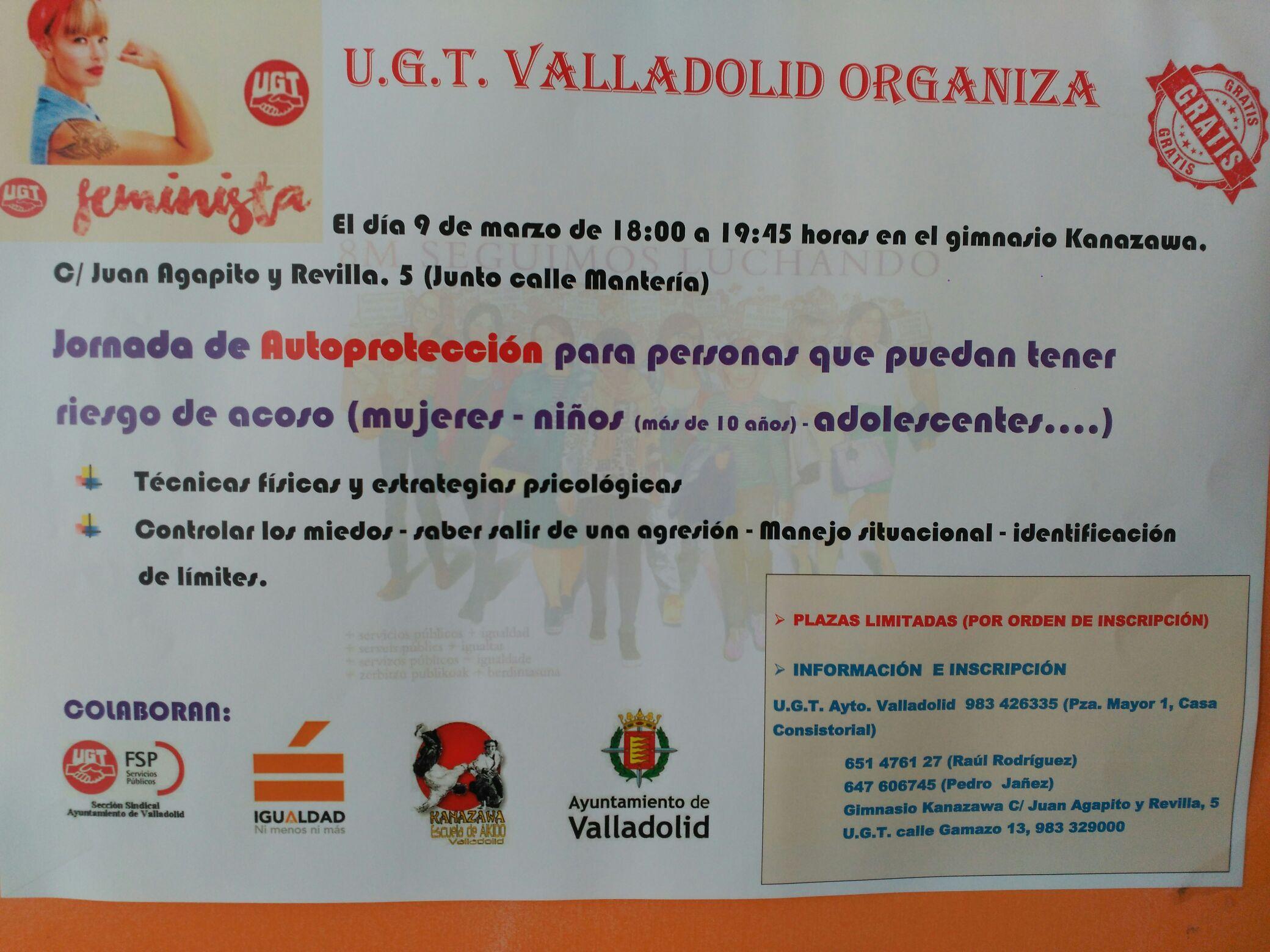 Jornada de autoprotección Valladolid