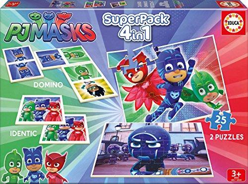 Pack 4 juegos Pijamask