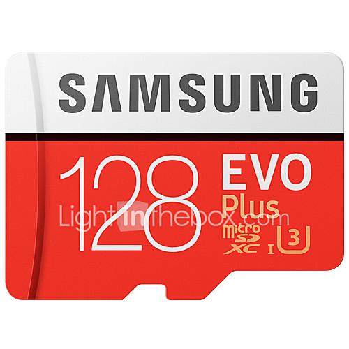 microSD 128GB Samsung evo plus + regalo lector de tarjetas