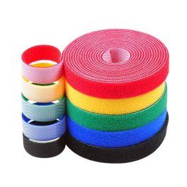 2 rollos cinta sujeta cables de 5 metros x 1cm