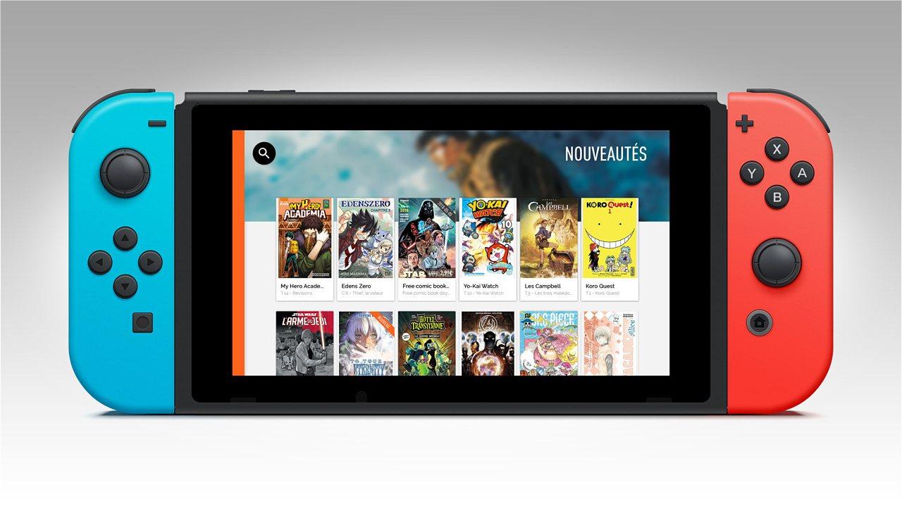 Más de 25.000 cómics comics en tu Nintendo Switch
