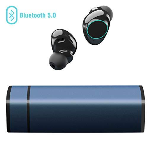 Muzili Auriculares Bluetooth, con Cancelación de Ruido Pantalla Táctil IP65