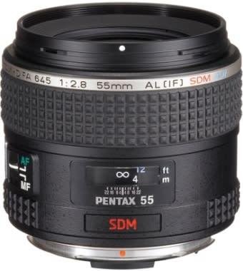 Pentax smc D-FA 645 55mm F2.8