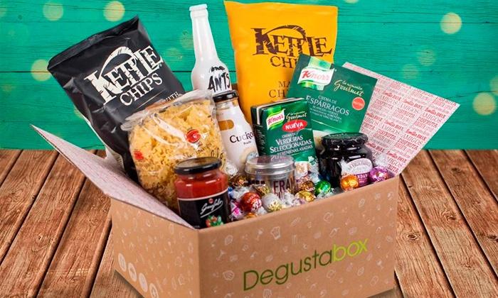 Caja de productos de alimentación premium