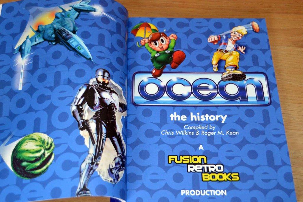 GRATIS, El libro The history of Ocean Software (PDF)