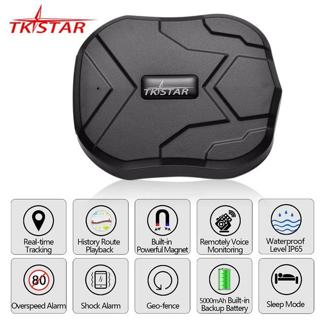 Localizador GPS para el coche TKSTAR TK905