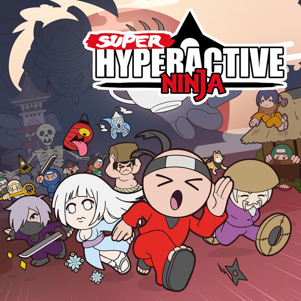 Super Hyperactive Ninja, juego de acción/plataformas (Switch, eShop)