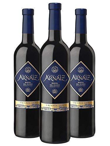 Viña Arnáiz Crianza D.O Ribera del Duero Vino Tinto - 6 Botellas x 750 ml - Total : 4500 ml