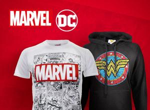 Descuento de hasta un 80% en Marvel & DC Comics