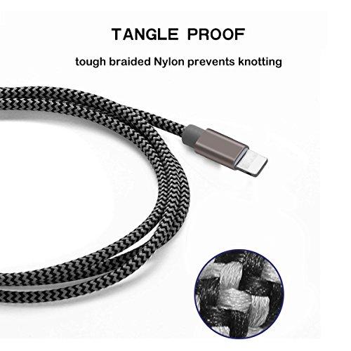 """Lote 3 Cables TIPO C, 1.8M, trenzados (resistencia) y carga """"rápida"""""""
