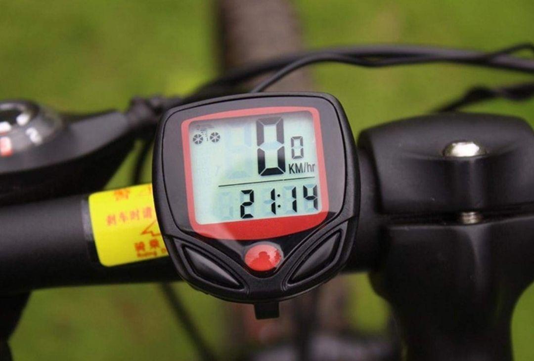 Cuentakilómetros para bicicleta