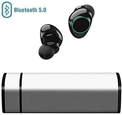 Muzili Auriculares Bluetooth con Cancelación de Ruido Pantalla Táctil IP65
