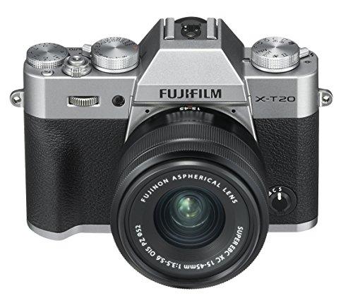 """Fujifilm X-T20 - Kit de cámara Evil de 24 MP y Pantalla de 3""""con Cuerpo y Objetivo"""