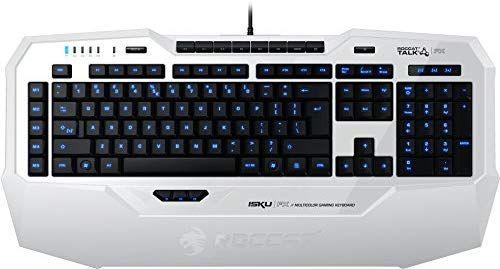 Roccat Isku FX - Teclado Gaming, iluminación, Color Blanco