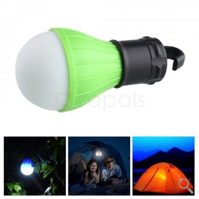 Bombilla de 3 LED 5W (Ideal para acampada) - Color aleatorio