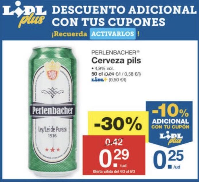 Cerveza Perlenbacher a precio de risa