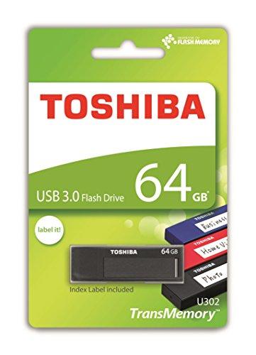 Toshiba TransMemory - Memoria USB U302 de 64 G